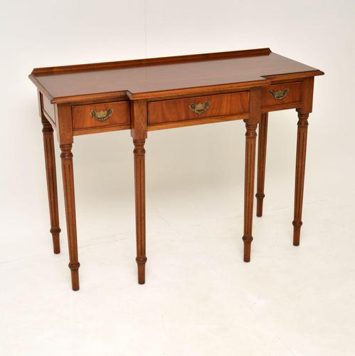 Antique Georgian Style  Mahogany Console Table (1 of 10)