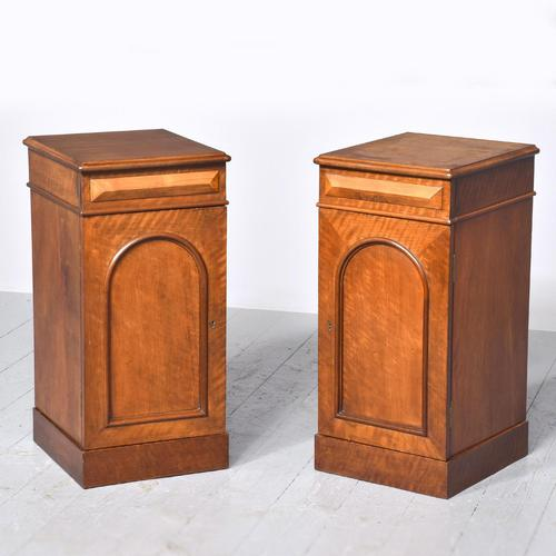 Pair of Victorian Mahogany Bedside Cabinets (1 of 9)