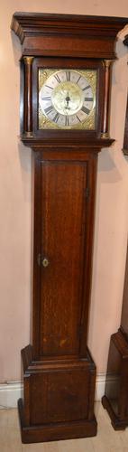 John Spinney Blandford Forum Longcase Grandfather Clock (1 of 7)