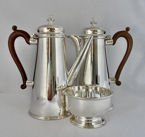 Silver Plated Chocolate Set c.1930 (1 of 8)