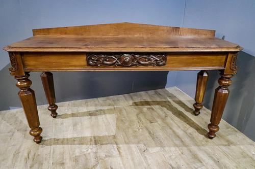 Oak Service Table (1 of 5)