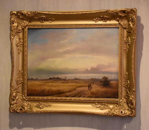 Landscape Oil Painting by David Cox Snr. (1783-1859) (1 of 9)