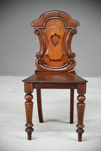 Single Mahogany Hall Chair (1 of 11)