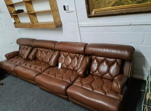 Retro Mid Century Modular Tetrad Suite Sofa (1 of 9)