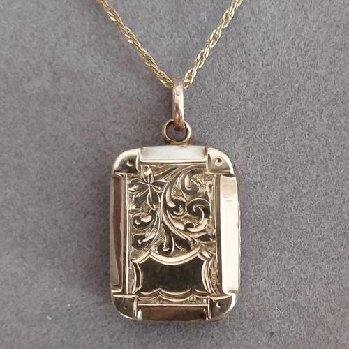 Victorian 9ct Gold Locket (1 of 8)