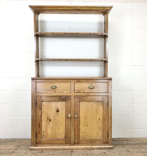 Late 19th Century Pine Kitchen Dresser (1 of 12)