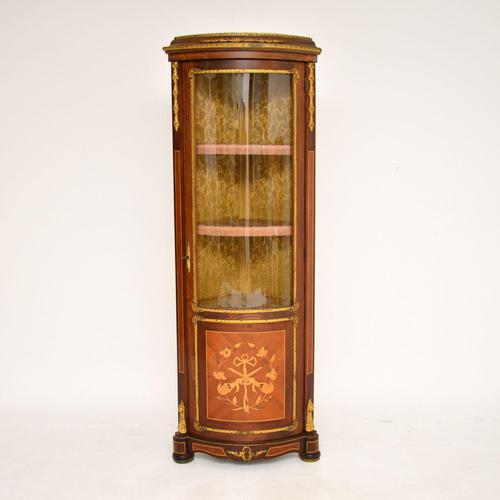 French Inlaid  Marquetry Corner Cabinet (1 of 8)