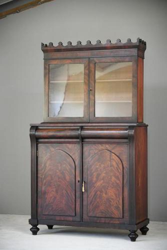 Antique Mahogany Bookcase (1 of 12)