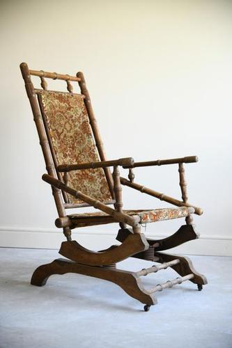 Early 20th Century  American Style Rocking Chair (1 of 13)
