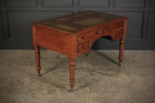 Victorian Oak Writing Table Desk (1 of 20)