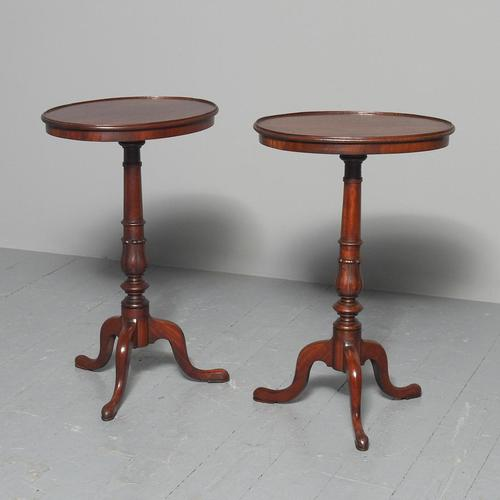 Georgian Pair of Mahogany Occasional Tables from Dunrobin Castle (1 of 5)