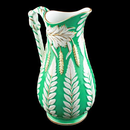 Victorian Staffordshire Pottery Jug (1 of 8)
