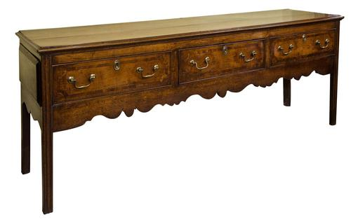 George II Oak Dresser (1 of 7)