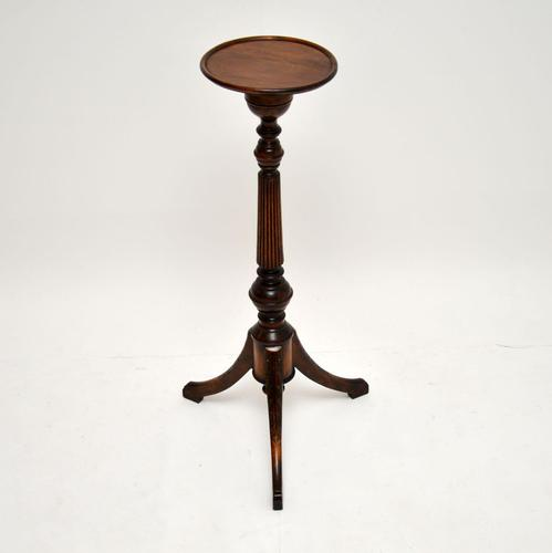 Antique Regency Style Mahogany Wine Table or Tochere (1 of 5)