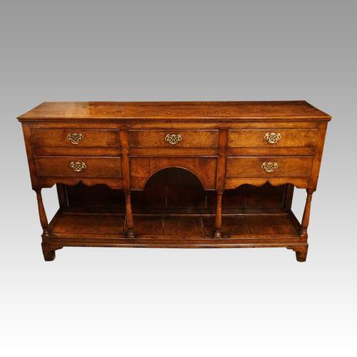 Antique oak pot board dresser (1 of 13)