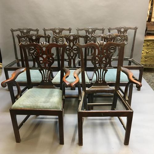 Set of 18th Century Mahogany Dining Chairs (1 of 21)