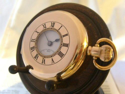 Antique Pocket Watch 1922 Swiss Vertex 7 Jewel Half Hunter 10ct Gold Filled Fwo (1 of 12)