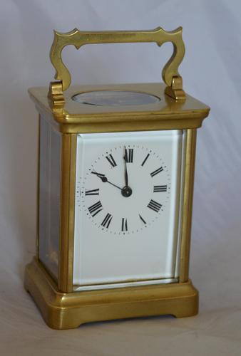 Brass Cased Carriage Clock c.1895 (1 of 5)