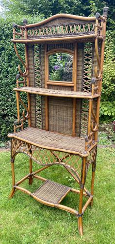 Cane & Rattan Hall Stand (1 of 5)