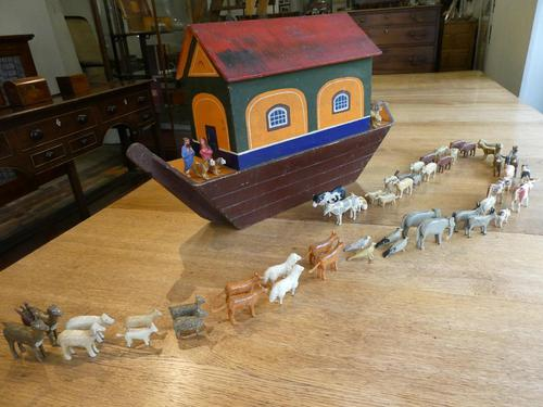 Noah's Ark c1900 Folk Art (1 of 14)