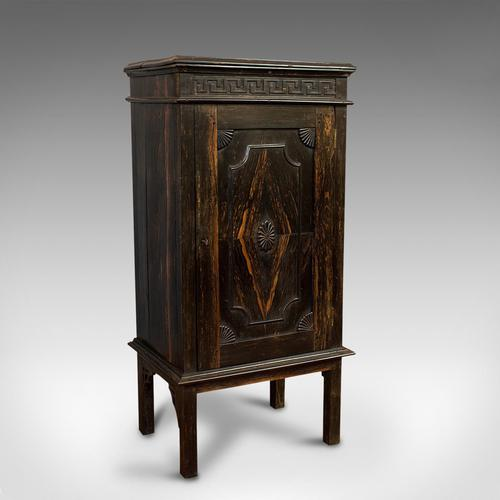 Vintage Ship's Cabinet, Rare, Asian, Coromandel, Decorative Maritime Cupboard (1 of 11)