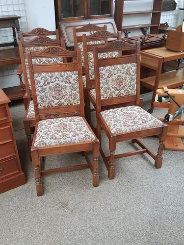 Set of 6 Old Charm Chairs (1 of 3)