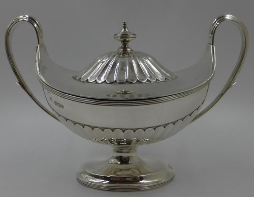 Antique Victorian Silver Tureen - Sheffield 1899 (1 of 7)