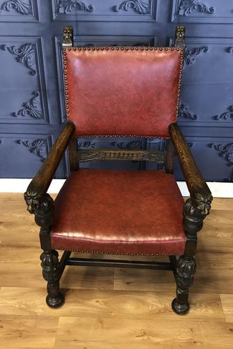 Oak Armchair (1 of 10)