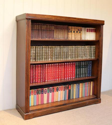 Oak Open Bookcase c.1920 (1 of 12)