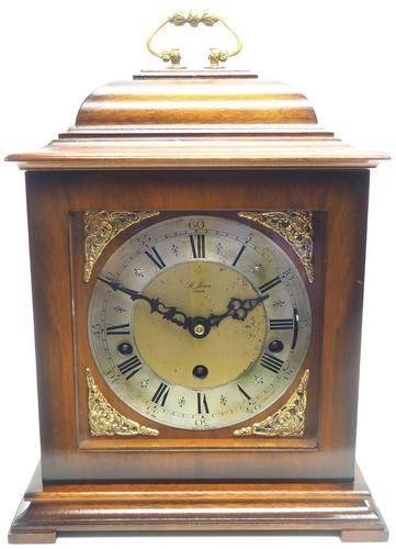 Incredible Sold Mahogany Mantel Clock Westminster Chime Triple Musical Bracket Clock by St James London (1 of 11)