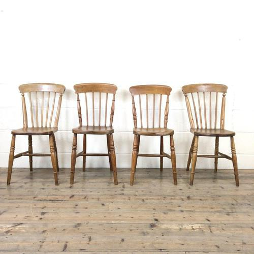Set of Four Mix & Match Farmhouse Chairs (1 of 9)