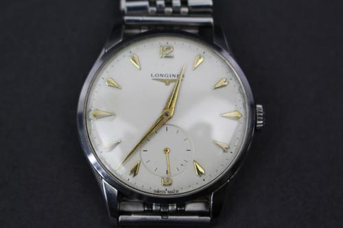 1960s Longines Stainless Steel Wrist Watch (1 of 3)