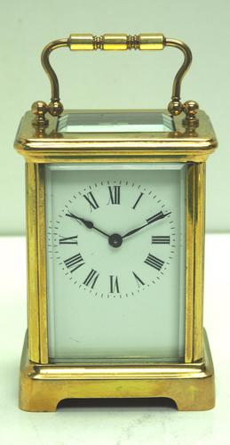 Rare Antique French 8-day Carriage Clock Classic and Sought After Design (1 of 11)