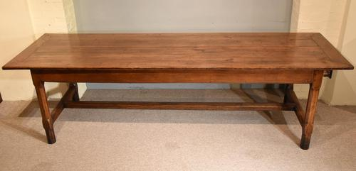 19th Century French Cherry Wood Farmhouse Table (1 of 8)