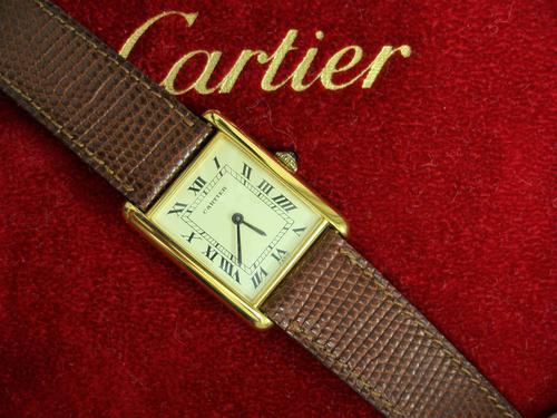 Cartier Gents Tank Wristwatch (1 of 5)