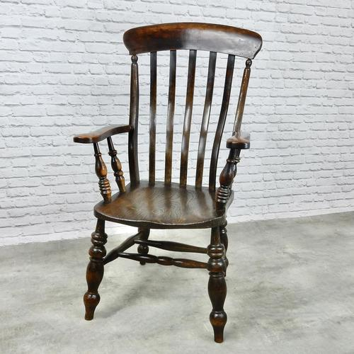 Large 'Grandfather' Windsor Armchair (1 of 6)