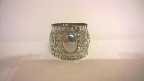Silver Napkin Ring, Hallmarked 1898 (1 of 3)