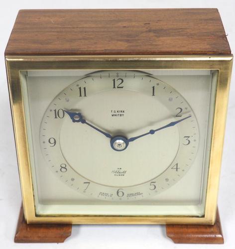 Super Vintage Mantel Clock Bracket Clock by Elliott of London (1 of 7)