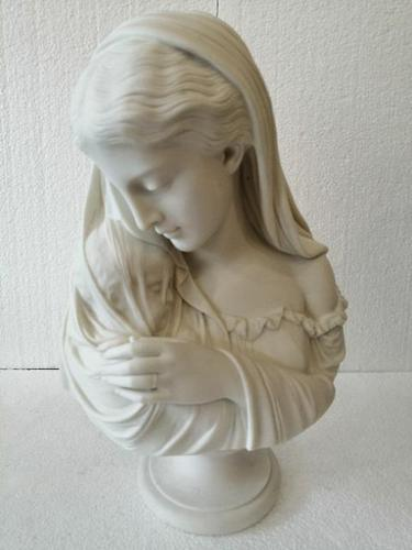 """Exquisite Copeland Parian Figure of """"The Mother"""" (1 of 9)"""