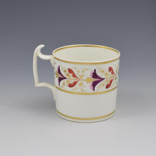 Derby Porcelain Coffee Can London Handle c.1805 (1 of 6)