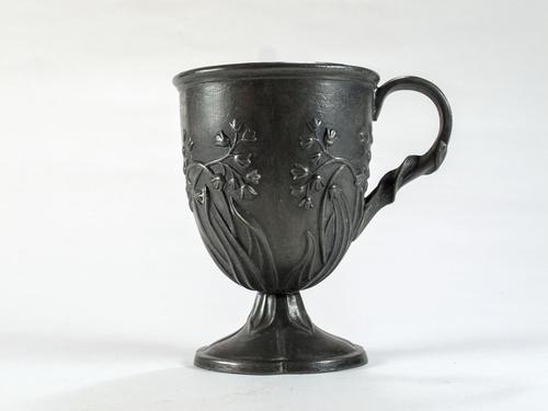 Arts & Crafts Molded Pewter Cup (1 of 6)