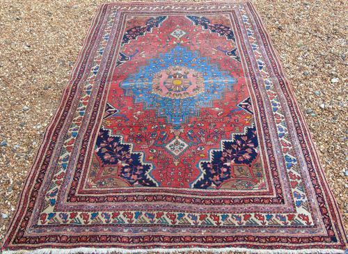 Antique Saroukh Feraghan Carpet (1 of 5)