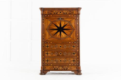 19th Century French Oak Escritoire (1 of 11)