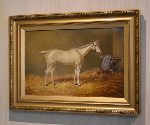 Beverley, Oil Painting of a Horse by William Eddowes Turner (1 of 7)