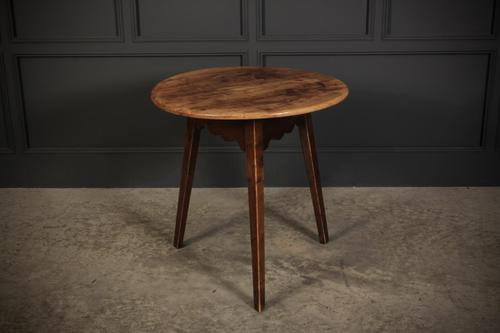 18th Century Cherrywood Cricket Table (1 of 6)