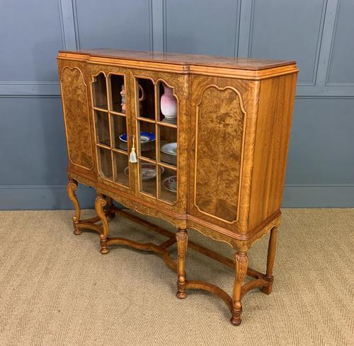 Burr Walnut Side Cabinet (1 of 18)