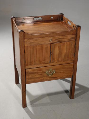 Good Chippendale Period Mahogany Commode (1 of 5)