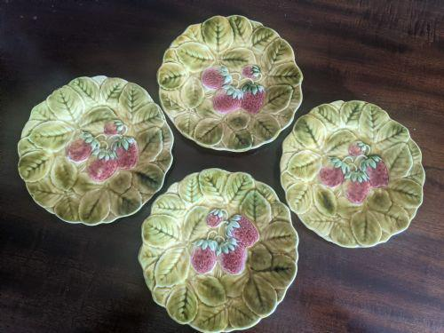 Set of Four French Fruit Plates (1 of 4)