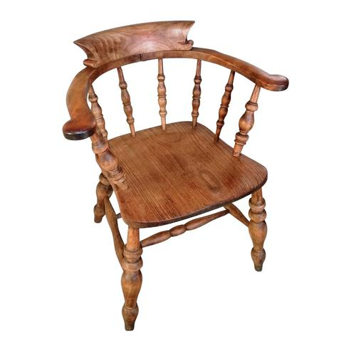Antique Smokers Bow Chair by Thomas Glenister (1 of 3)