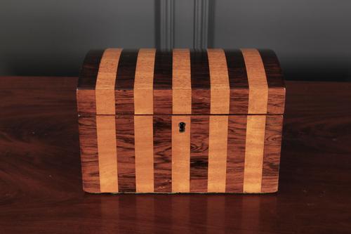 Rosewood & Satinwood Trinket Box (1 of 9)
